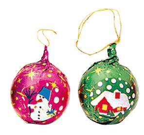 Christmas chocolate Spheres