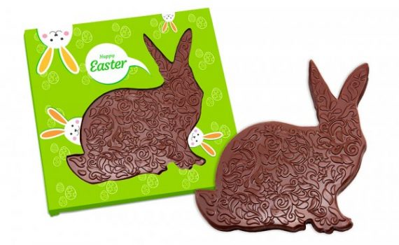 Chocolate Ornamented Hare