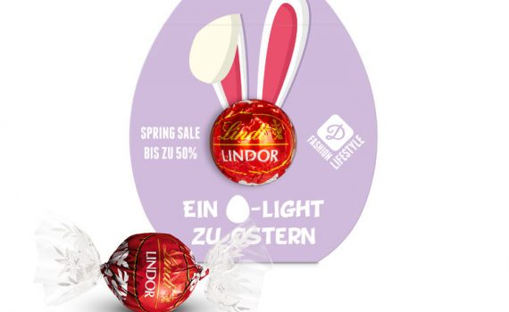 Lindt Lindor Chocolate Truffles Easter egg.