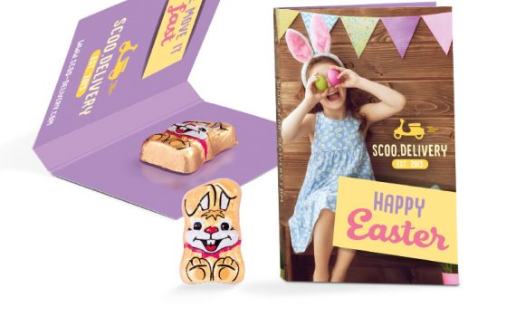 Promotion Card Easter Bunny