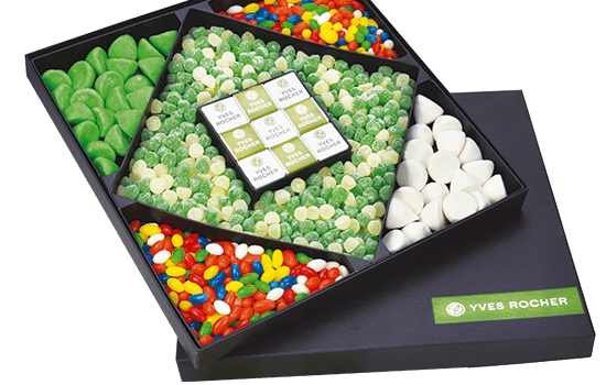Advertising XXL candies mix box
