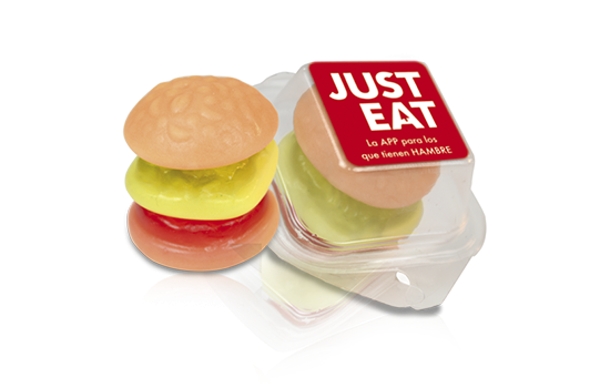 Advertising Gummy burger