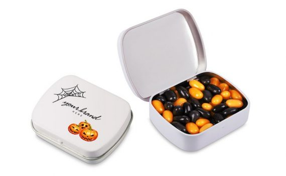 mini hinged lid tin