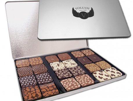 Chocolate printed tin 24