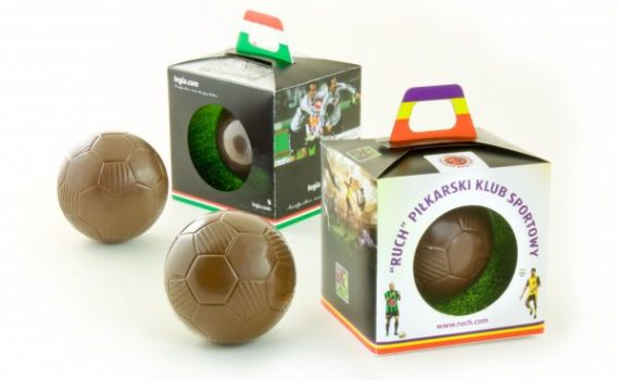 Football 60mm in Box With a Grip