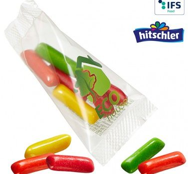 Promo-Peak with Mini HITSCHIES Chew Candy Mix