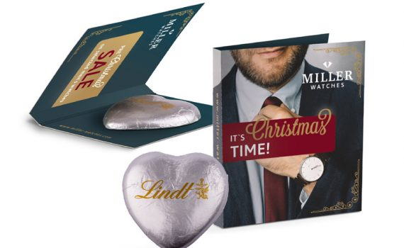 Promotion Card Midi Lindt Heart