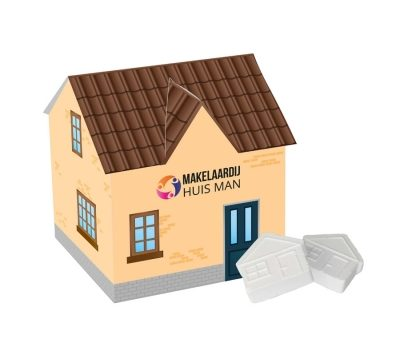 Promotional House with house mints