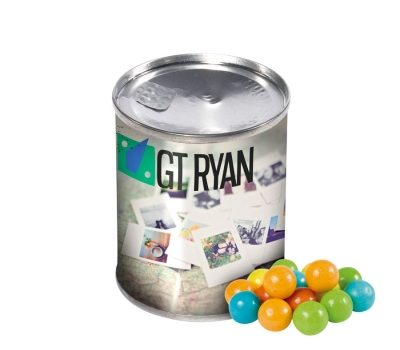 Promotional bubble gum balls 50g