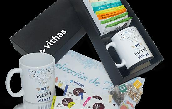 Tea selection + mug