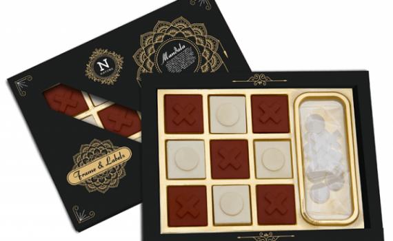 Tic Tac Toe Chocolate Box