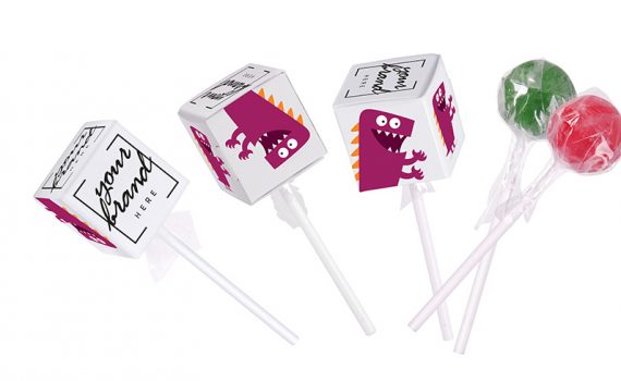 cube lollipops childrens day