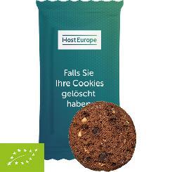 Bio Cookie Schoko-Haselnuss