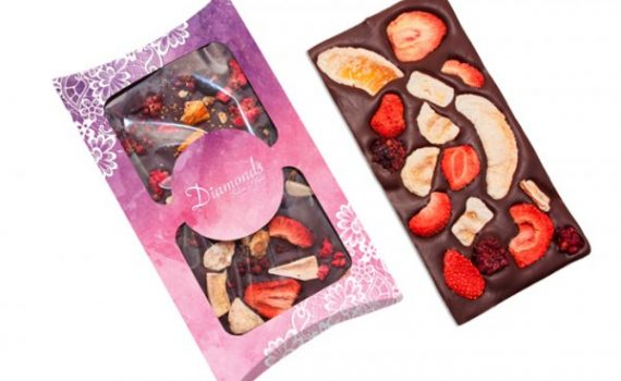 Chocolate with Fruits 90g