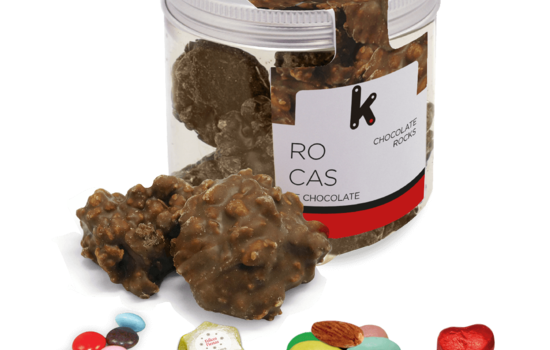 Promotional chocolate rocks