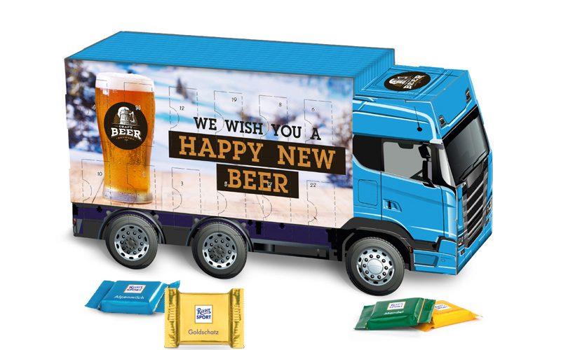 Advent Calendar Truck