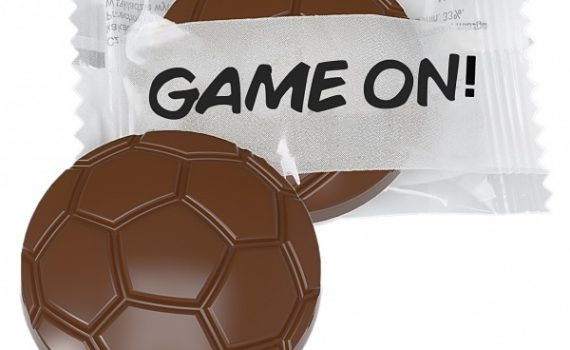 Chocolate Football Flow Pack 9 g