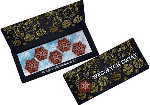 Chocolate Snowflake Set