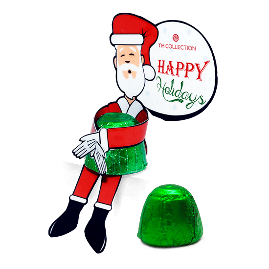 Chocolate holder Santa Claus