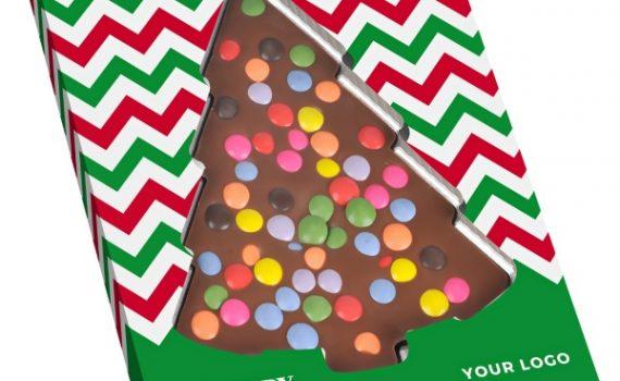 Christmas Choco Tree with sprinkles