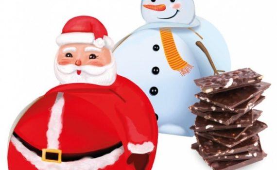 Christmas Chocolate Bites 72% Cocoa