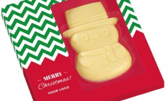 Christmas Chocolate Snowman