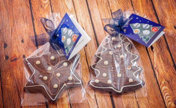 Christmas Gingerbreads in Bags