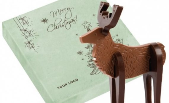 Christmas Reindeer Choco Puzzle 3D