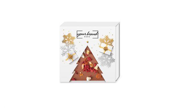 Christmas choco sweet tree