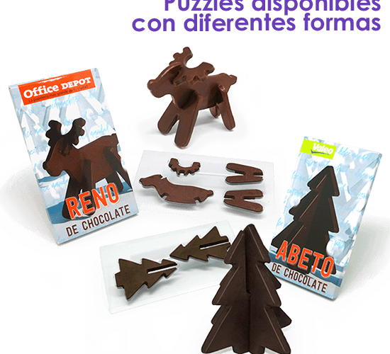 Christmas chocolate puzzle