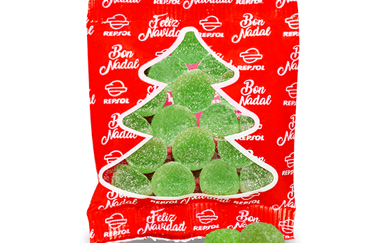 Christmas gummies bag 10 g