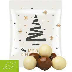 Christmas organic chocolate crispy balls mix 12g