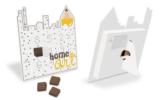 Mini Advent calendar in individual shape