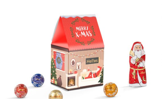 Promotion Box Lindt Christmas