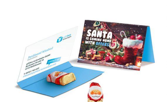 Promotion Card Santa Claus