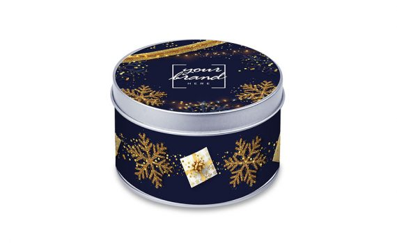 Promotion mini tin of sweets