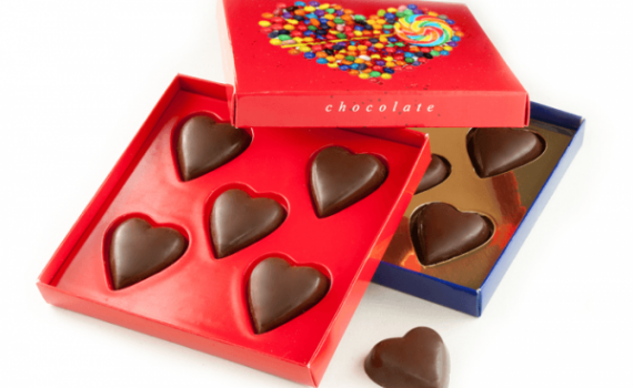 5 Mini Hearts Set