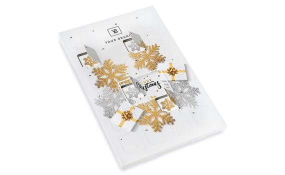 Advent calendar – 24 square chocolates