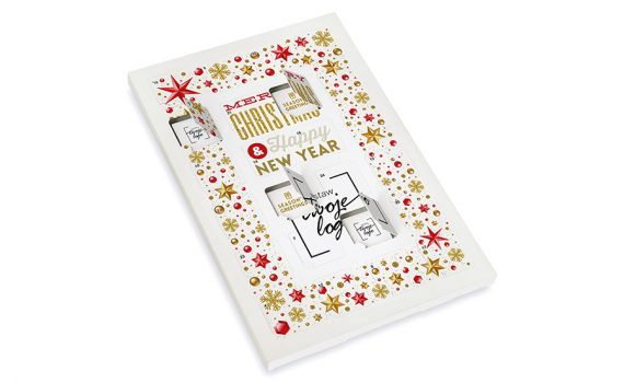 Advent calendar – 24 square chocolates
