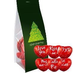 Chocolate hearts, ca. 50g