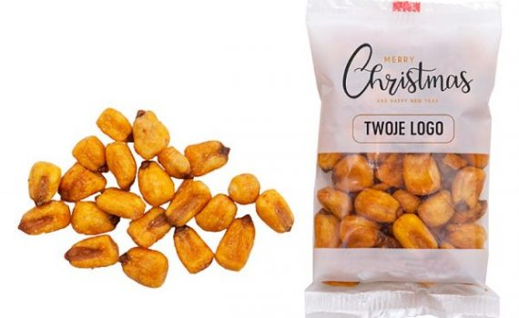 Christmas Toasted Corn in Bags