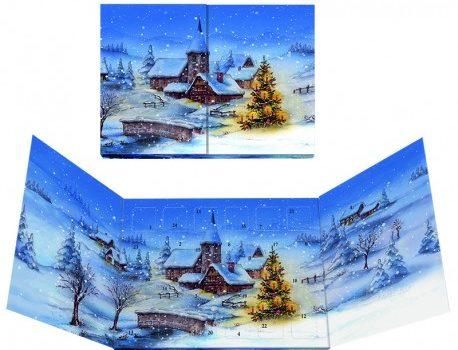 Christmas calendar Panorama