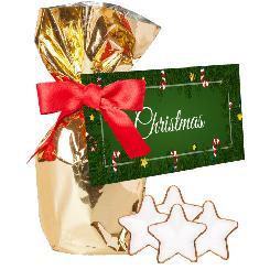Christmas cinnamon stars, ca. 80g