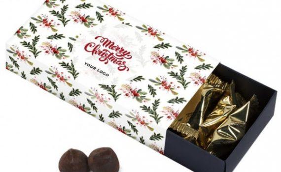 Christmas french truffles