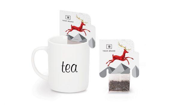 Christmas tea 2 cup xmas