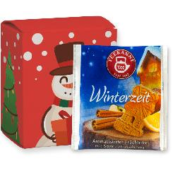 Christmas teabags winter time, 10 pcs, folding box