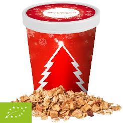 Organic crunchy Christmas muesli apple-cinnamon, ca. 60g