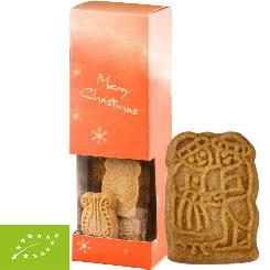 Organic traditional spicy Christmas cookie, ca. 80g