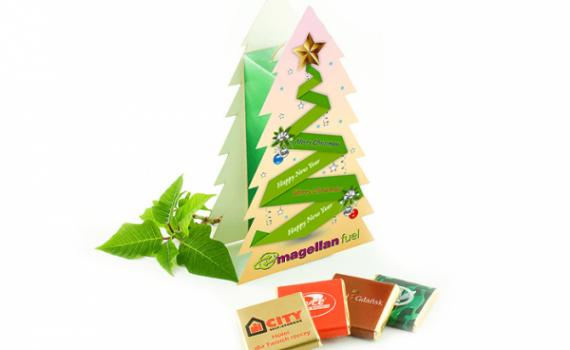 Small Christmas Tree with Belgian Chocolates