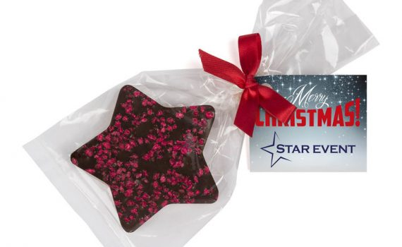 Chocolate Christmas Star